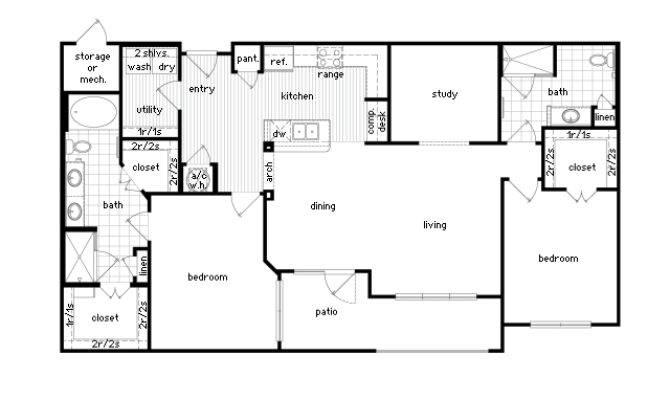 Bedroom Luxury Apartment Floor Plans Hobbylobbys Info