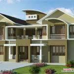 Bedroom Luxury Villa Design Feet Kerala Home