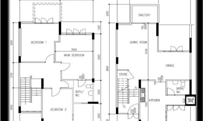 Bedroom Maisonette House Plans Kenya
