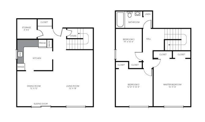 Bedroom Maisonette House Plans Kenya