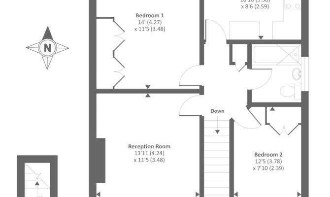 Bedroom Maisonette Sale Primelocation