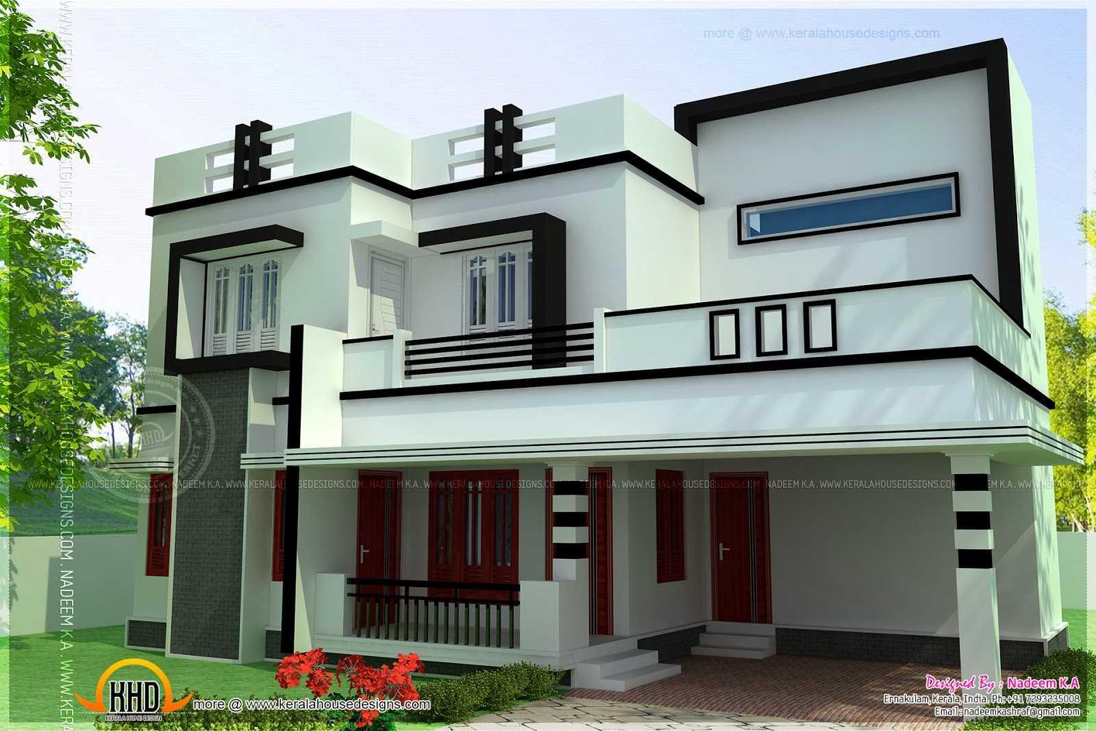 Bedroom Modern House Design Plans Designs Including