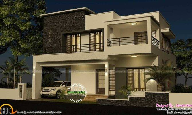 Bedroom Modern House Design Plans Designs Two One