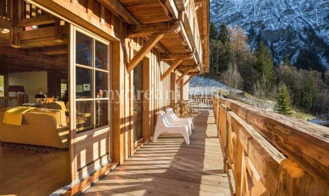 Bedroom New Build Chalet Sale Saint Gervais Mont Blanc