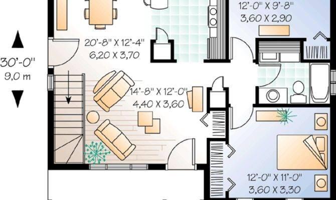 Bedroom Ranch Carport Floor Master