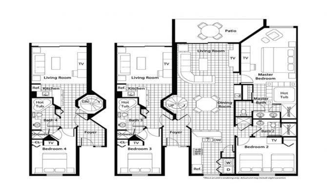 Bedroom Ranch Floor Plans Plan Westgate