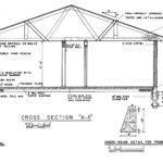 Bedroom Ranch House Plan Car Garage Split