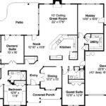 Bedroom Ranch House Plans Basement