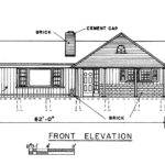 Bedroom Ranch House Plans Carport