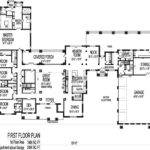 Bedroom Ranch House Plans Homes Floor