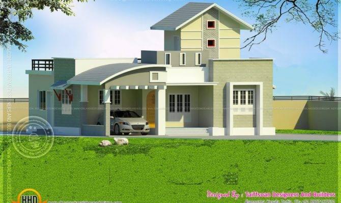 Bedroom Single Storied House Kerala Home Design
