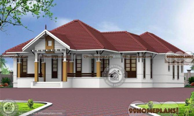 Bedroom Single Story House Plans Dream Home