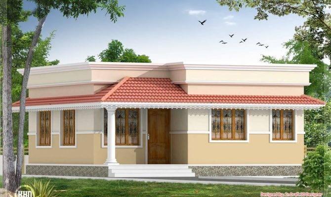 Bedroom Small Villa Kerala Home Design Floor Plans