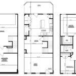 Bedroom Townhouse Floor Plans Garage Story Kelsey Bass