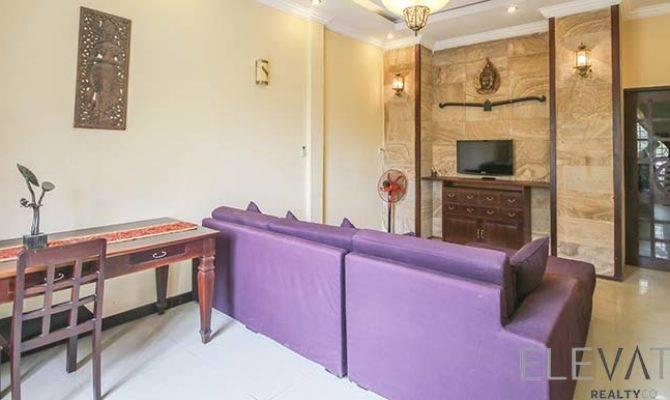 Bedroom Townhouse Rent Boeng Trabek Livingroom