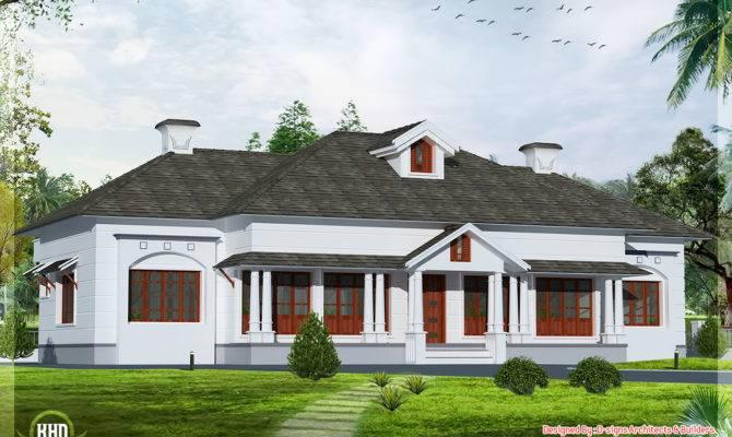 Bedroom Victorian Style Villa Kerala Home Design Floor Plans