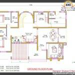 Bedroom Villa Elevation Plan Kerala Home Design Floor Plans