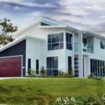 Bedroom Villa Storey Home Design Suits Small Narrow Blocks