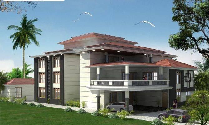 Bedrooms Triplex House Design Bill Plans