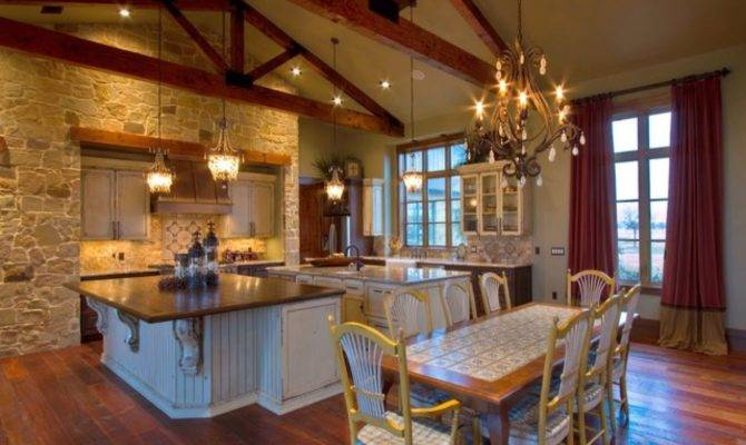Before After Kitchen Remodel Texas Ranch Style Homes