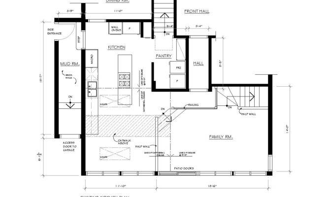 Before Here Plan Kitchen Room