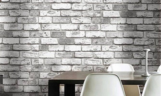 Beibehang Vintage Shabby Brick Deco Vinyl Roll
