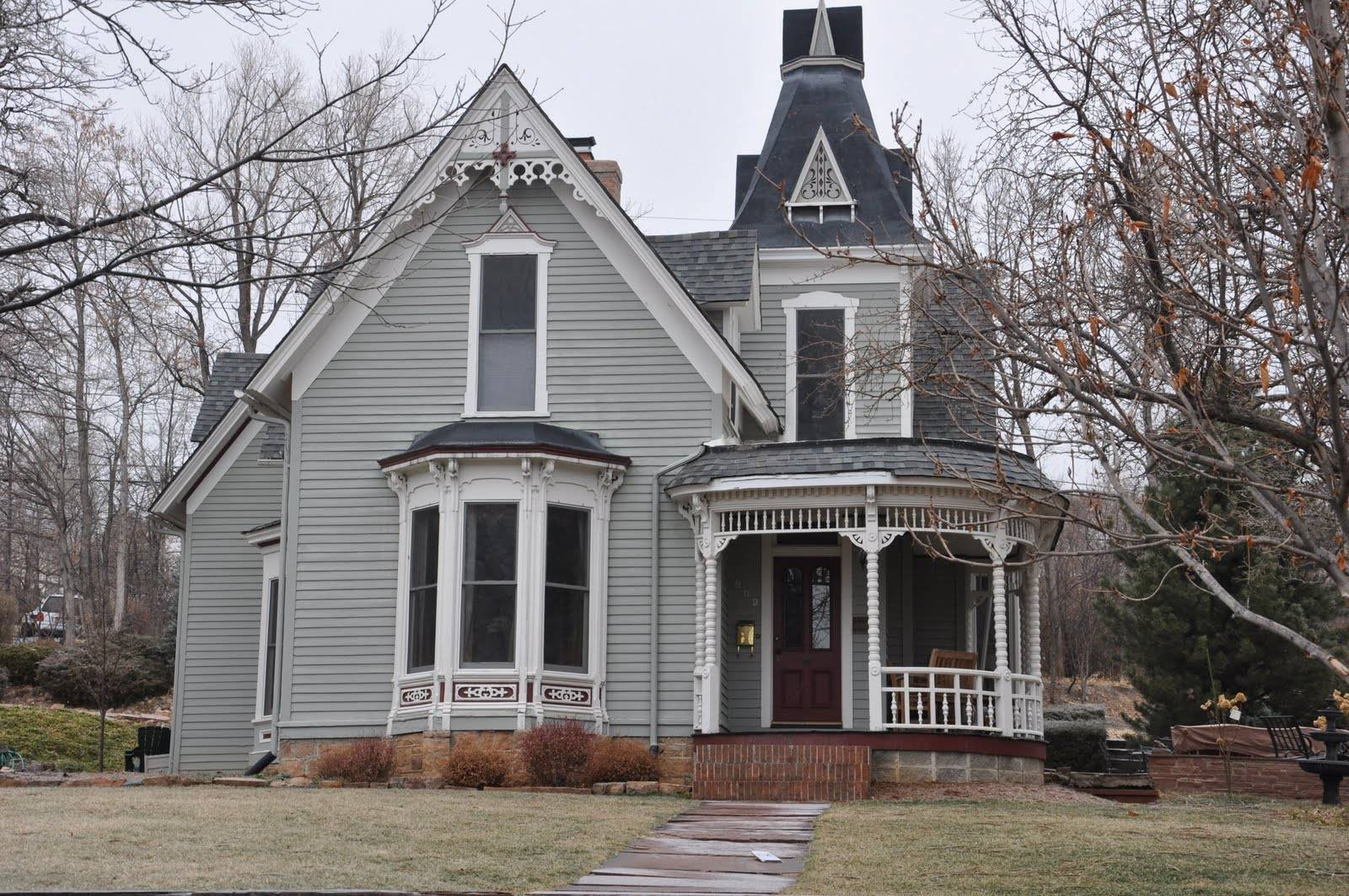 Being Boulder Victorian Architecture Queen Anne King Edward
