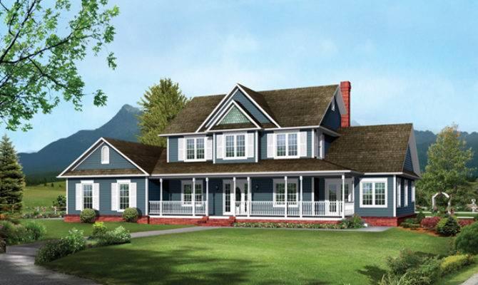 Bennington Country Farmhouse Plan House Plans
