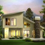 Berm Home Plans Contemporary House Vacation