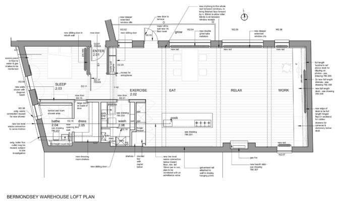 Bermondsey Warehouse Loft Apartment Form Design