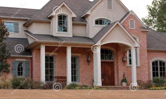 Best Brick Stucco Homes Pinterest