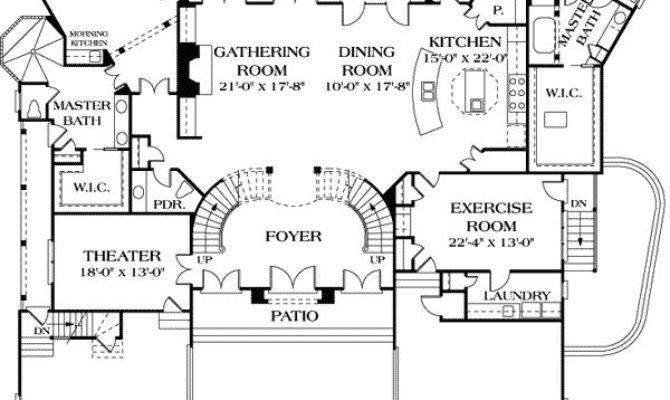 Best Dual Master Suites House Plans Pinterest