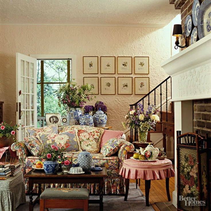 Best English Cottage Interiors Pinterest