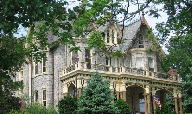 Best Gothic Revival Homes Pinterest