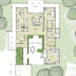Best House Plans Pinterest Courtyard