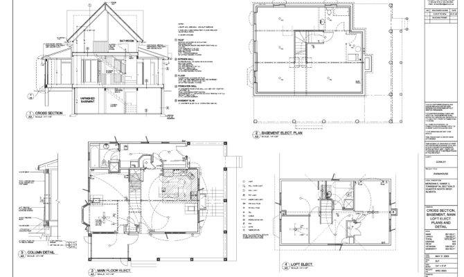 Best Line Plan Residential Building Home