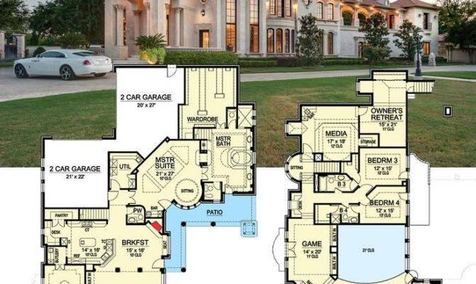 Best Luxurious Floor Plans Pinterest House
