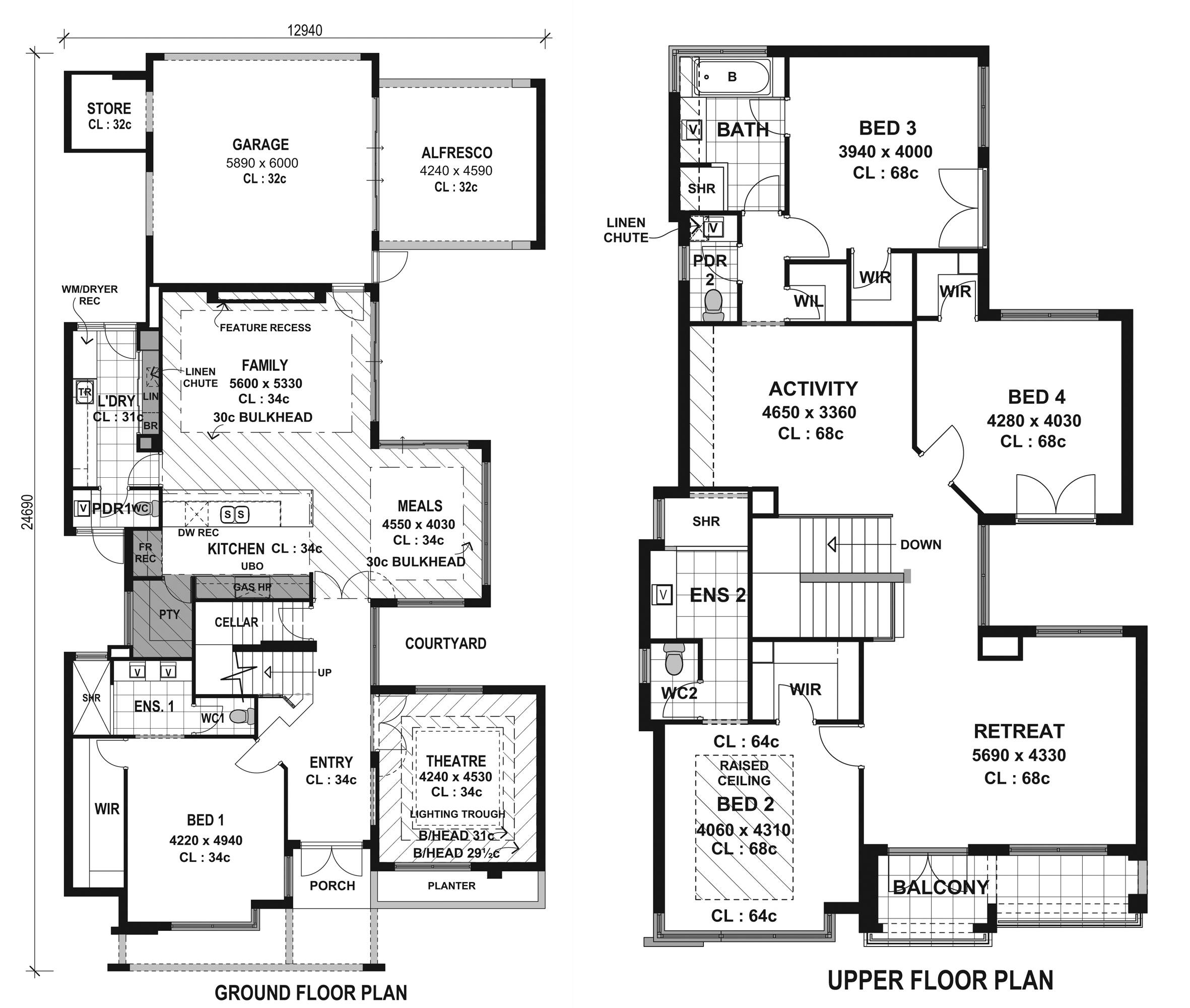 Best Modern Home Designs Floor Plans Collection