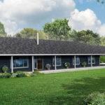 Best One Story House Plans Wrap Around Porch Blw Danutabois