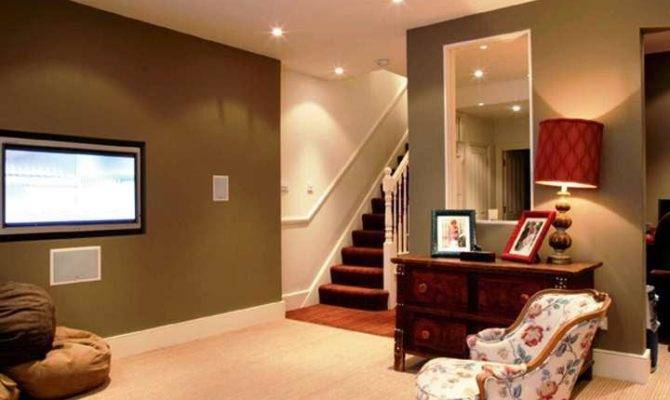 Best Paint Color Basement Room
