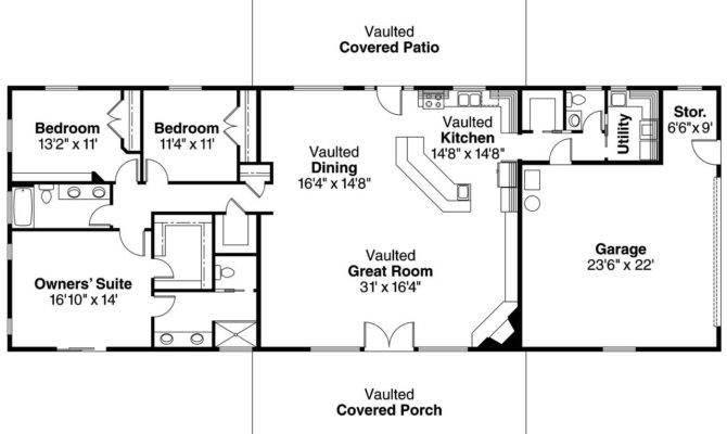 Best Ranch House Barn Home Farmhouse Floor Plans