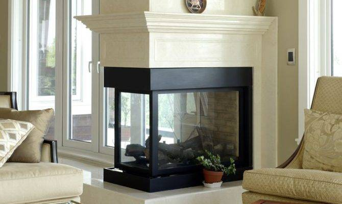 Best Sided Fireplace Pinterest Gas