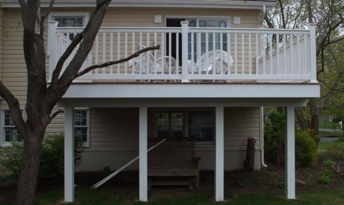 Best Simple Second Floor Deck Plans Ideas House