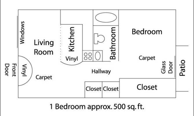 Best Simple Sqft Bedroom Apartment Ideas