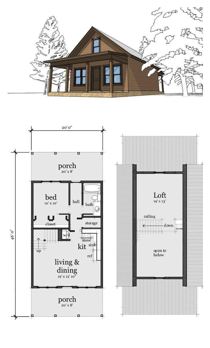 Best Small Cabin Plans Ideas Pinterest
