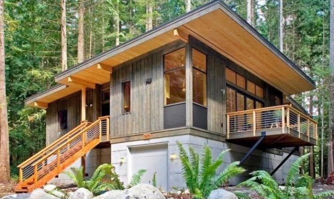 Best Small Modern Wooden Custom Home Designs