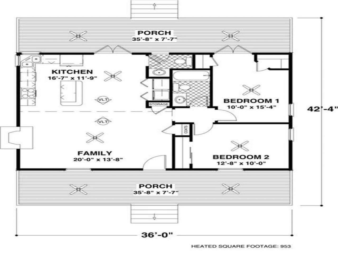 Best Small Open Floor Plans House