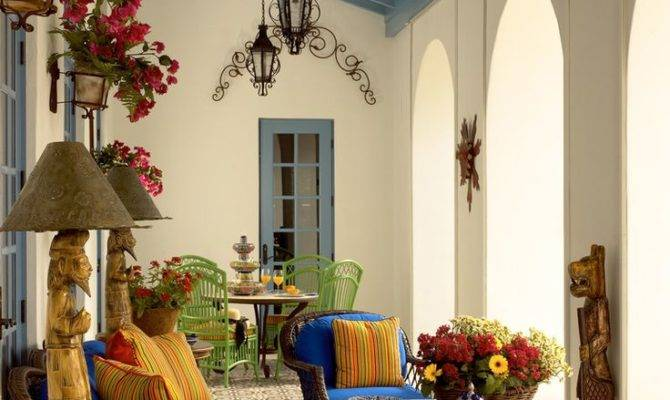 Best Spanish Patio Ideas Pinterest Style