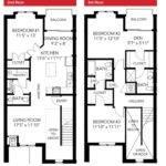 Best Townhouse Duplex Plans Pinterest