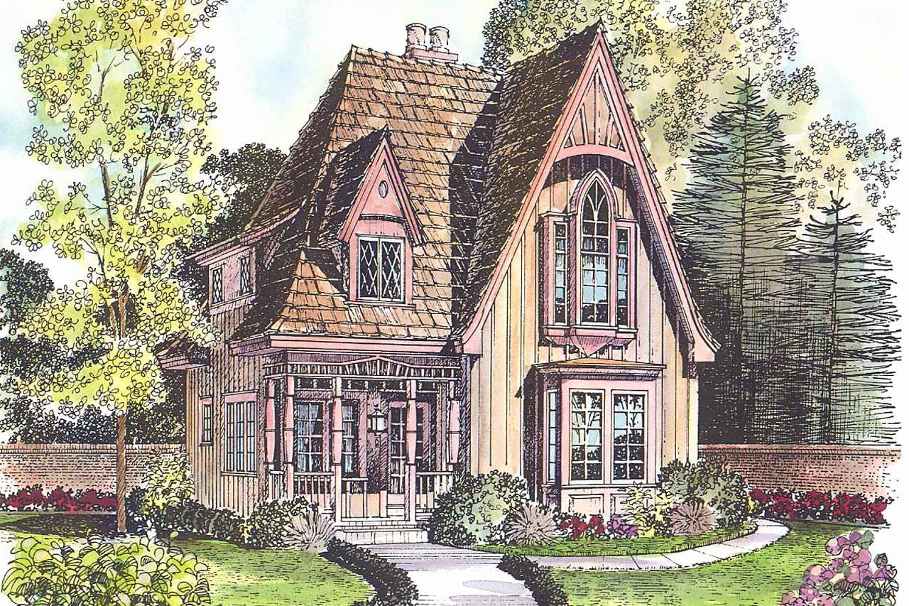 Best Victorian House Plans One Story Home